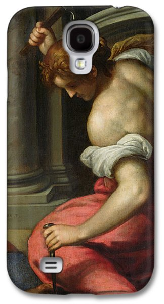 Hammer Paintings Galaxy S4 Cases - The Death of Sisera Galaxy S4 Case by Palma Il Giovane