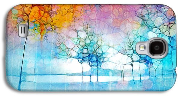 Abstract Nature Galaxy S4 Cases - The Departing Trees Galaxy S4 Case by Tara Turner