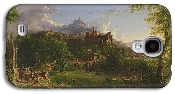 The Departure Galaxy S4 Case by Thomas Cole