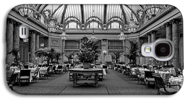 Landmarks Photographs Galaxy S4 Cases - The Dining Room Of The Palace Hotel Galaxy S4 Case by Mountain Dreams