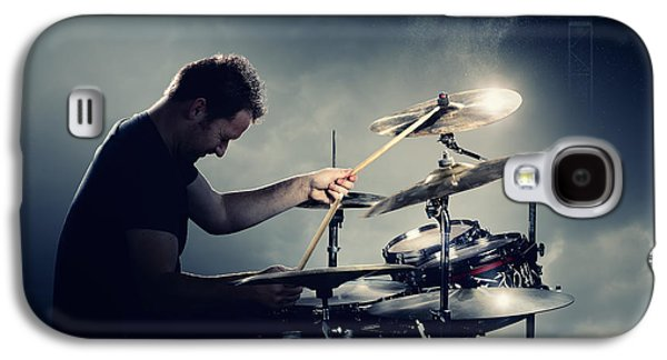 The Drummer Galaxy S4 Case by Johan Swanepoel