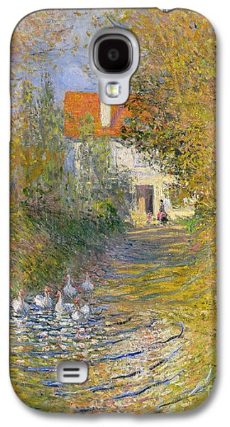 The Duck Pond Galaxy S4 Case by Claude Monet