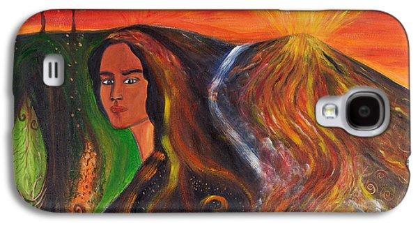 The Elemental Goddess Galaxy S4 Case by Solveig Katrin