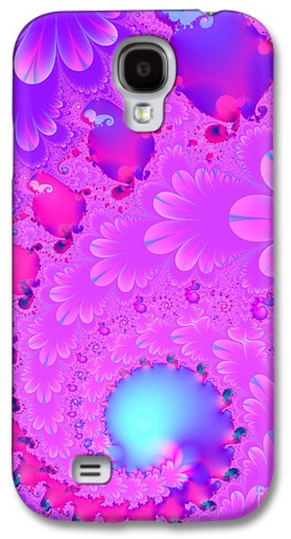 Algorithmic Digital Art Galaxy S4 Cases - The Enchanted Forest . Version 2 . S8 Galaxy S4 Case by Wingsdomain Art and Photography