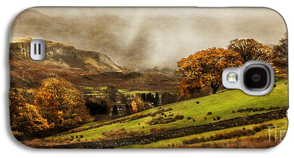 Green Galaxy S4 Cases - The English Lake District Galaxy S4 Case by Linsey Williams