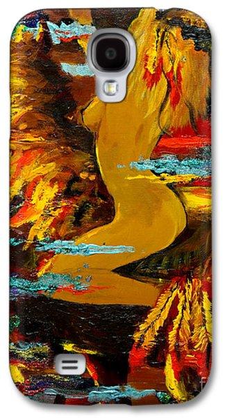 Dreamscape Galaxy S4 Cases - The Eternal Sea - Self Portrait Galaxy S4 Case by Karon Melillo DeVega