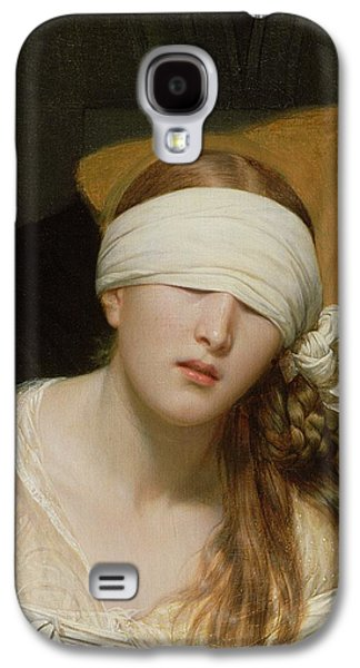 The Execution Of Lady Jane Grey Galaxy S4 Case by Hippolyte Delaroche
