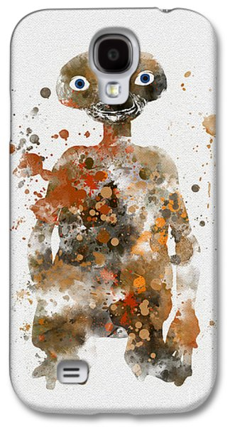 Terrestrial Galaxy S4 Cases - The Extra Terrestrial Galaxy S4 Case by Rebecca Jenkins