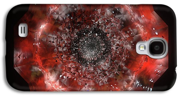 Animation Galaxy S4 Cases - The Eye of Cyma - Fire and Ice - Frame 49 Galaxy S4 Case by Jules Gompertz