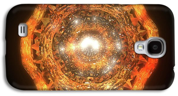 Animation Galaxy S4 Cases - The Eye of Cyma - Fire and Ice - Frame 7 Galaxy S4 Case by Jules Gompertz