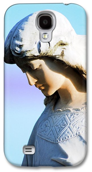 Statue Portrait Galaxy S4 Cases - The Face of an Angel Galaxy S4 Case by Susanne Van Hulst