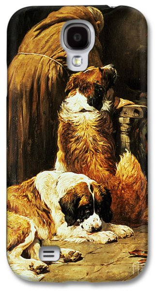 Religious Galaxy S4 Cases - The Faith of Saint Bernard Galaxy S4 Case by John Emms