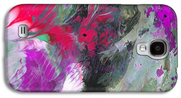 Dreamscape Galaxy S4 Cases - The Feather Dance Galaxy S4 Case by Miki De Goodaboom