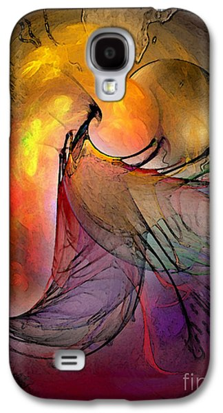 Contemplative Digital Galaxy S4 Cases - The Firedevil Galaxy S4 Case by Karin Kuhlmann