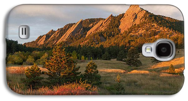 The Flatirons - Autumn Galaxy S4 Case by Aaron Spong