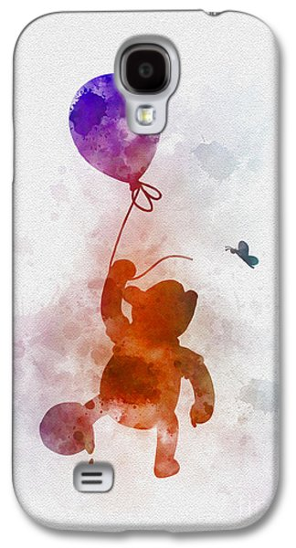 Animation Galaxy S4 Cases - The Flying Bear Galaxy S4 Case by Rebecca Jenkins
