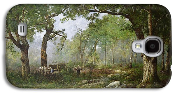The Forest Of Fontainebleau Galaxy S4 Case by Leon Richet