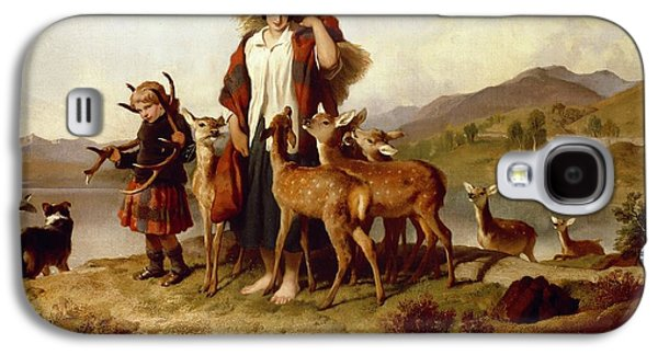 The Forester's Family Galaxy S4 Case by Sir Edwin Landseer