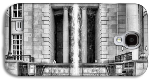Hattiesburg Galaxy S4 Cases - The Fountain at Trent Lott National Center Galaxy S4 Case by JC Findley