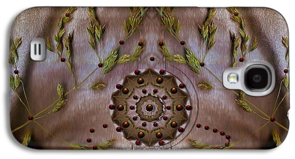 Abstract Fountain Galaxy S4 Cases - The Fountain Of Life Galaxy S4 Case by Pepita Selles