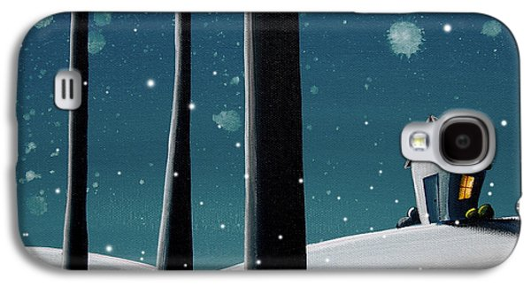Night Paintings Galaxy S4 Cases - The Frost Galaxy S4 Case by Cindy Thornton