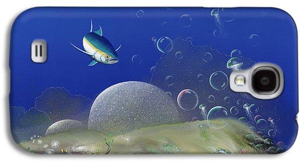 Recently Sold -  - Angel Mermaids Ocean Galaxy S4 Cases - The Garden of Departing Dreams Galaxy S4 Case by Lee Pantas