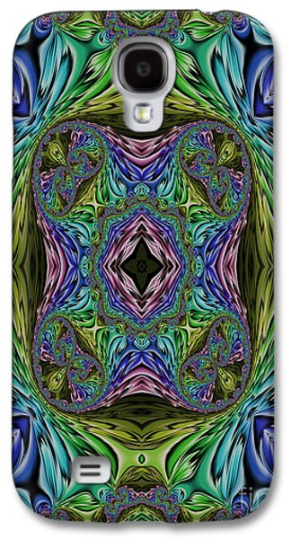 Abstract Garden Galaxy S4 Cases - The Garden of Infinite Possibilities Galaxy S4 Case by John Edwards