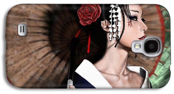Pete Tapang Galaxy S4 Cases - The Geisha Galaxy S4 Case by Pete Tapang