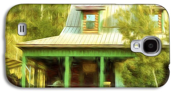 Thoreaus Cabin Paintings Galaxy S4 Cases - The Getaway - Digital Painting Galaxy S4 Case by Barry Jones