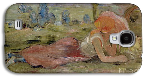 The Goatherd Galaxy S4 Case by Berthe Morisot