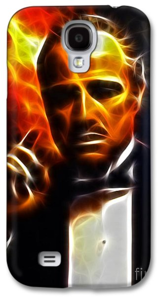 The Godfather Galaxy S4 Cases - The Godfather Galaxy S4 Case by Pamela Johnson