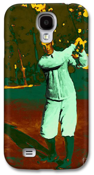 Nike Digital Galaxy S4 Cases - The Golfer - 20130208 Galaxy S4 Case by Wingsdomain Art and Photography