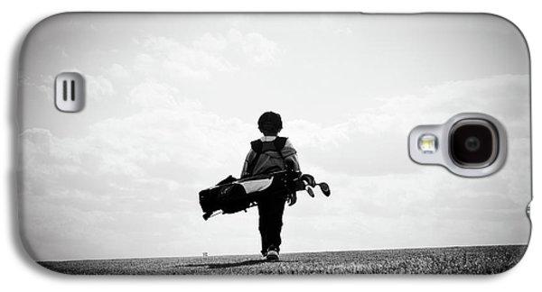 The Golfer Galaxy S4 Case by Shawn Wood