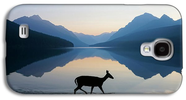 Deer Galaxy S4 Cases - The Grace of Wild Things Galaxy S4 Case by Dustin  LeFevre
