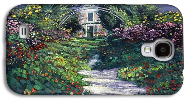 Gardenscapes Galaxy S4 Cases - The Grand Allee Giverny Galaxy S4 Case by David Lloyd Glover