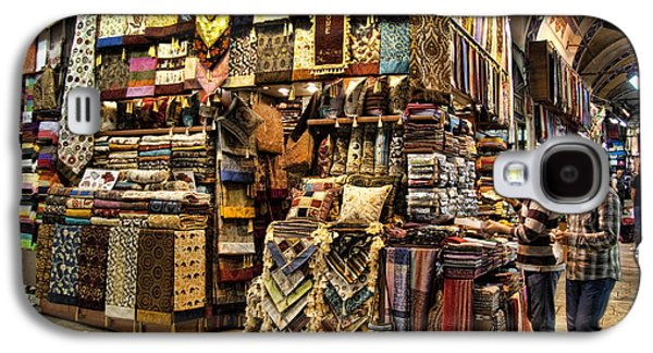 Interface Galaxy S4 Cases - The Grand Bazaar in Istanbul Turkey Galaxy S4 Case by David Smith