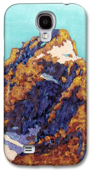 Landscape Acrylic Prints Pastels Galaxy S4 Cases - The Grand Teton Galaxy S4 Case by Abbie Groves