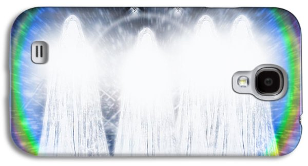 Mother Mary Digital Art Galaxy S4 Cases - The Great White Brotherhood Galaxy S4 Case by Leanne M Williams