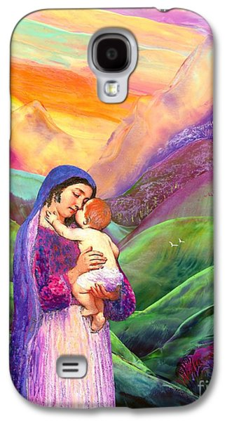 Recently Sold -  - Surreal Landscape Galaxy S4 Cases - The Greatest Gift Galaxy S4 Case by Jane Small