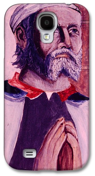 Greek Icon Paintings Galaxy S4 Cases - The greek Icon Galaxy S4 Case by David Zimmerman