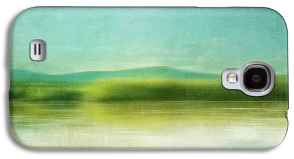 Landscapes Photographs Galaxy S4 Cases - The Green Haze Galaxy S4 Case by Priska Wettstein