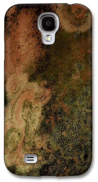 Nature Abstract Galaxy S4 Cases - The Green Man Weeps Galaxy S4 Case by Denise Clark