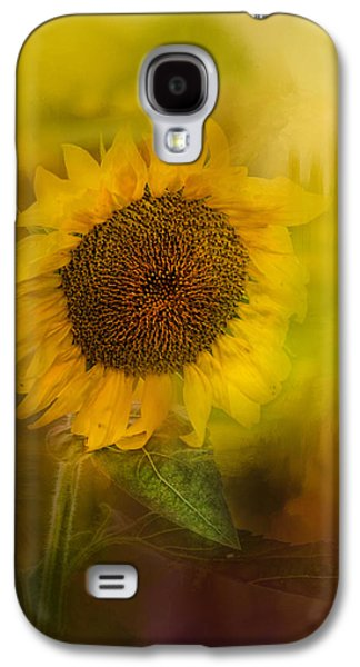 Sun Galaxy S4 Cases - The Happiest Flower Galaxy S4 Case by Jai Johnson