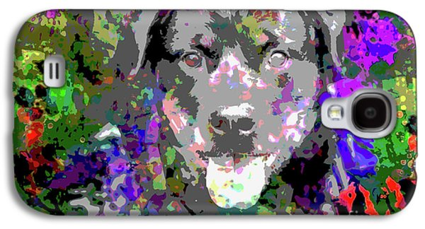 The Happy Rottweiler Galaxy S4 Case by Jon Neidert