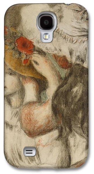 The Hatpin Galaxy S4 Case by  Pierre Auguste Renoir