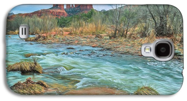 The Heart Of Sedona Galaxy S4 Case by Donna Kennedy
