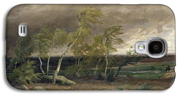 The Heath In A Storm Galaxy S4 Case by Valentin Ruths