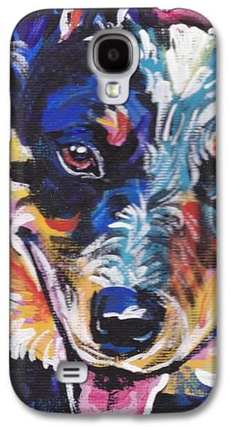 Cattle Dog Galaxy S4 Cases - The Heeler Galaxy S4 Case by Lea
