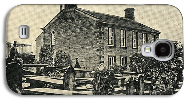Charlotte Drawings Galaxy S4 Cases - The Home Of Charlotte Bronte,1816-1855 Galaxy S4 Case by Ken Welsh