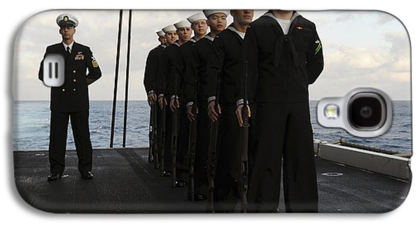 Recently Sold -  - Enterprise Galaxy S4 Cases - The Honor Guard Stands At Parade Rest Galaxy S4 Case by Stocktrek Images
